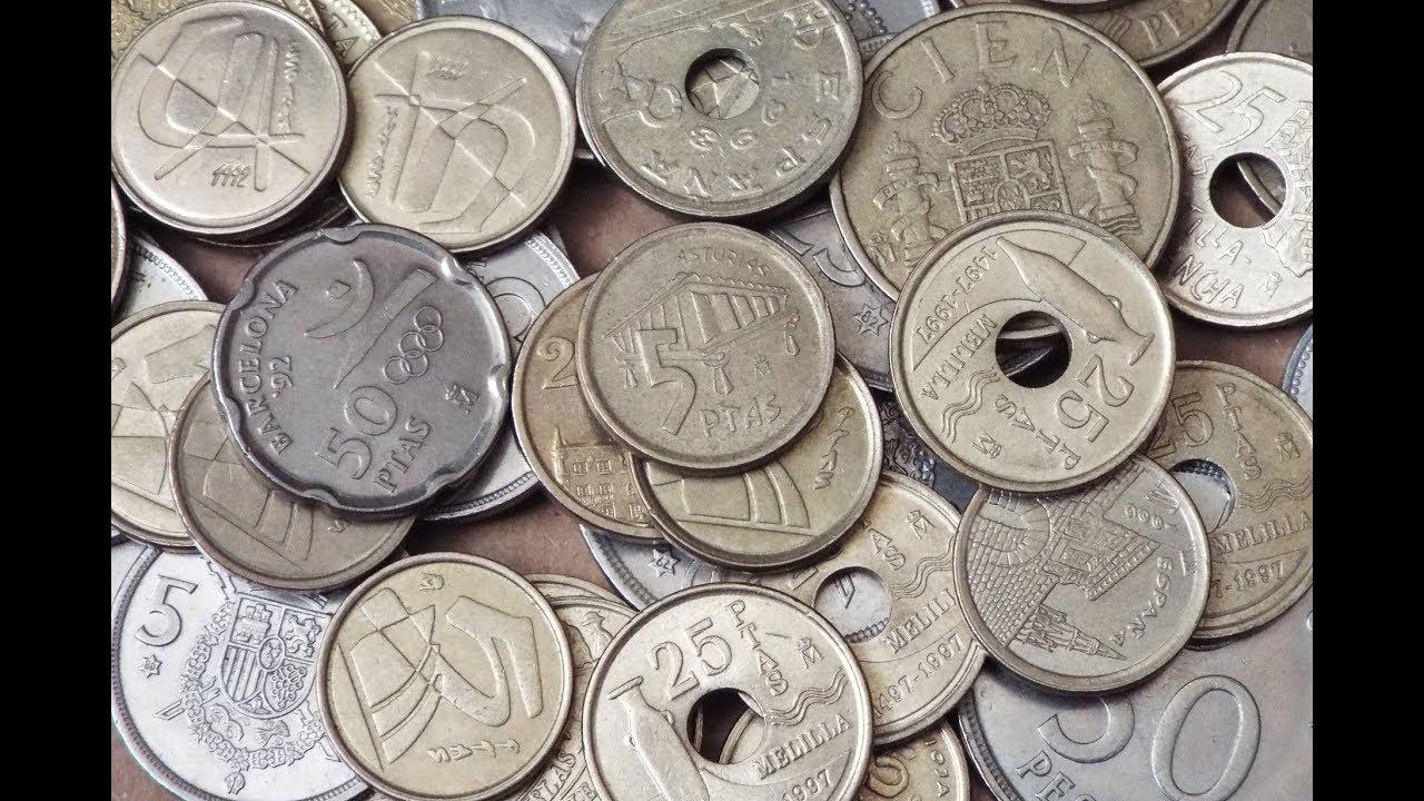 Spanish Peseta Coin Collection 2018