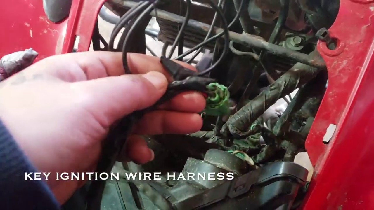 How To Easily Install Tether Kill Switch For Atv Honda 400ex Youtube