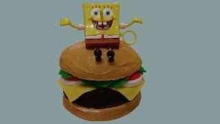 Spongebob Crabby Party Cake