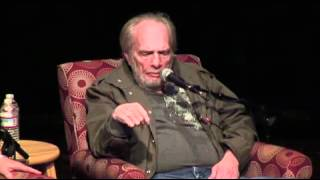 At Country Music Hall of Fame forum, Merle Haggard talks about Bonnie Owens