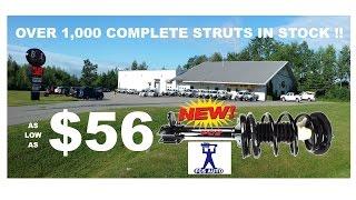 FCS MacPherson Complete Strut Assembly B&L Auto Parts 1292 Hammond St. Bangor, ME 207.989.6515