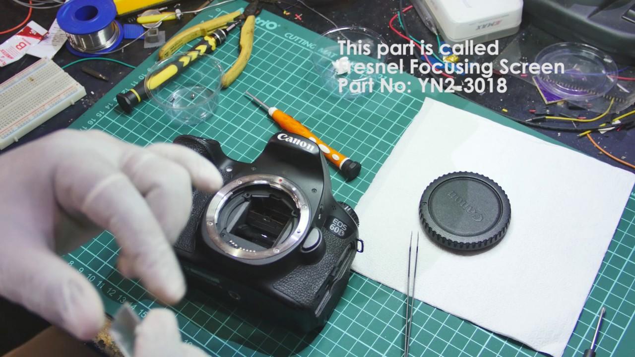 Remove Focus Box Canon T3i