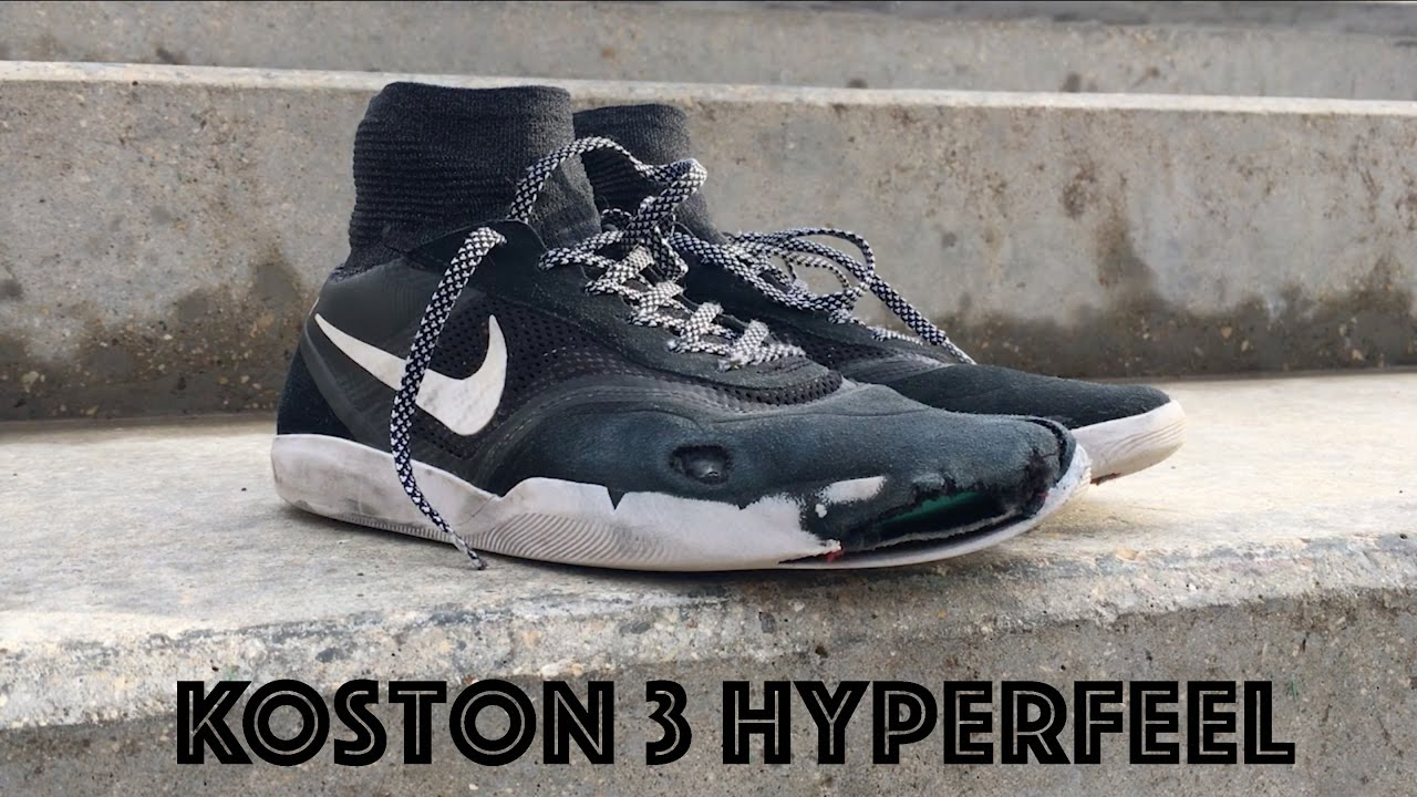 Perca En honor Cumplimiento a  Nike Koston 3 Hyperfeel Wear Test + Review - YouTube