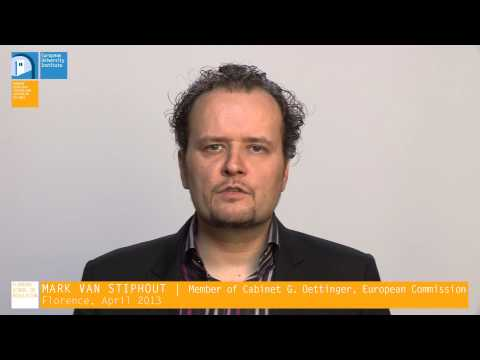 Mark van Stiphout | Gas Infrastructure for a European Energy Market