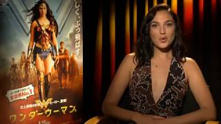 Gal Gadot - Message to Wonder Woman Fans in Japan, Speaks in Japanese.