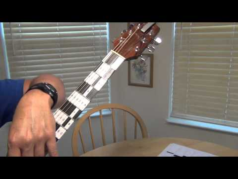 Piano Keyboard on Guitar Neck (Memorize Fretboard Easily)