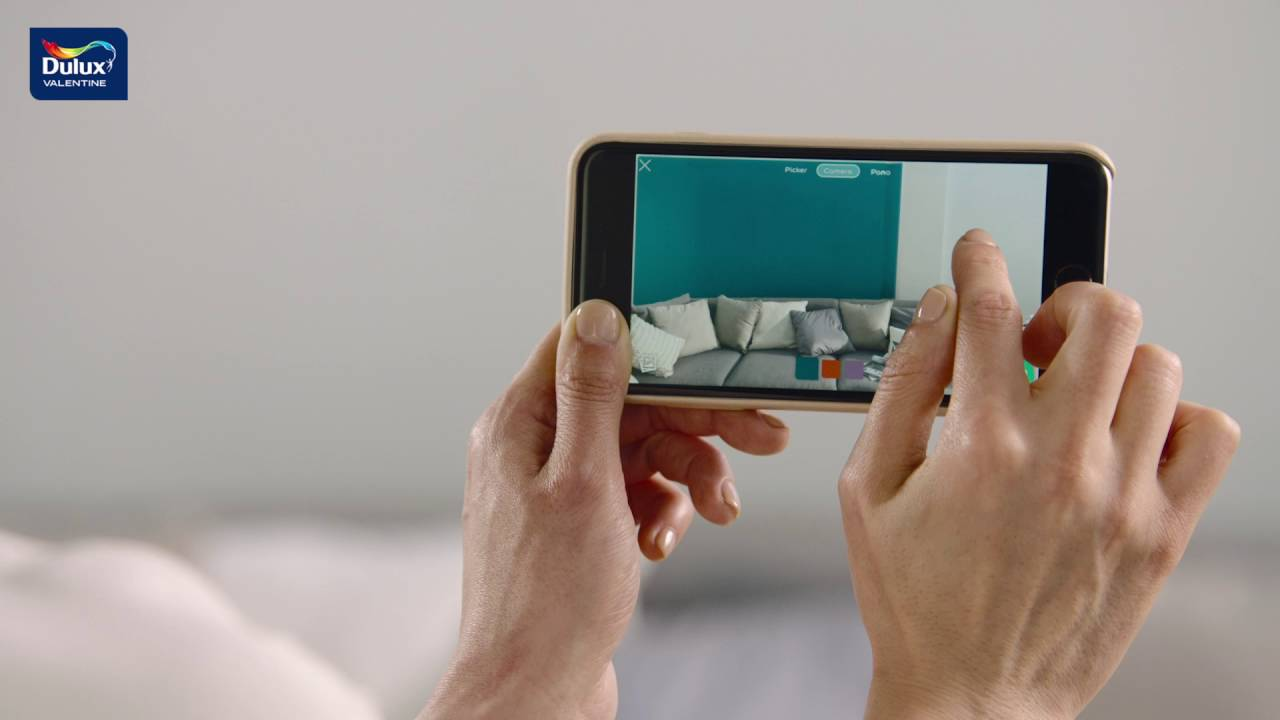 dulux valentine visualizer trouvez la bonne couleur youtube. Black Bedroom Furniture Sets. Home Design Ideas