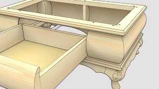 видео Банкетка своими руками: как сделать банкетку для кухни?