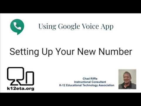 Setting Up A Google Voice Number 2020