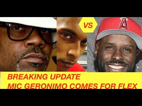 BREAKING UPDATE: Funk FLex MAKES MIC GERONIMO MAD over Dame Dash Diss