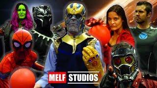 AVENGERS: INFINITY WAR DODGEBALL | Funny Marvel Superhero Parody - MELF