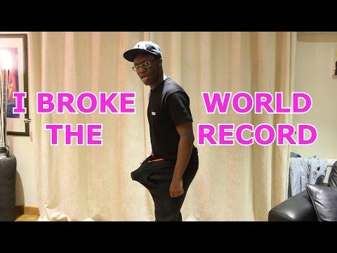 I BROKE THE WORLD RECORD