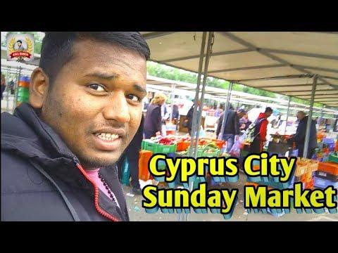 Nicosia City Cyprus [Sunday Market] Vlog Video 2020