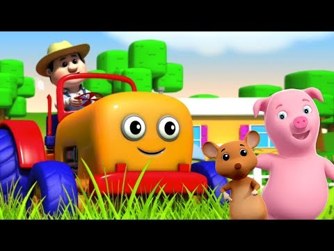 Traktor Lied | Kinderreime | lied für Kinder | Reime für Kinder | Farmees Rhymes | Tractor Song