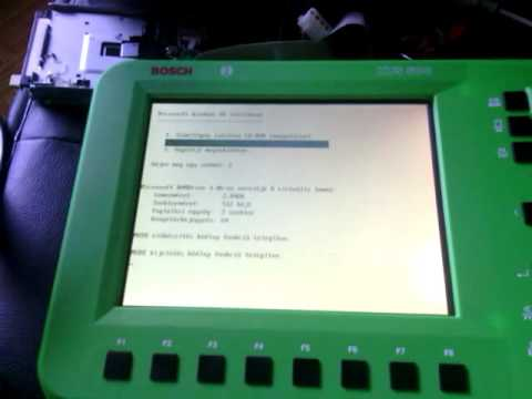 Bosch KTS 500 Booting From Floppy (Win98 Startup Disk)