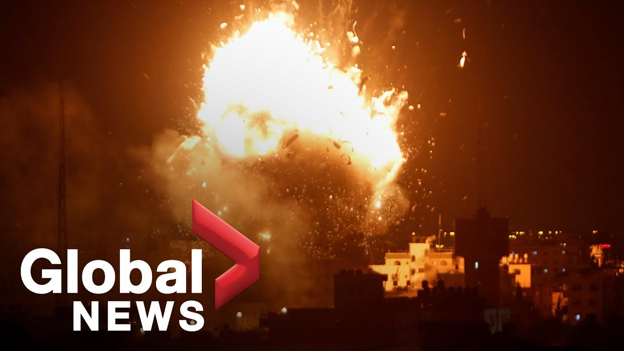 Israel bombs Hamas TV station in Gaza as fighting continues