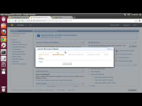 Migrating Database to Amazon RDS