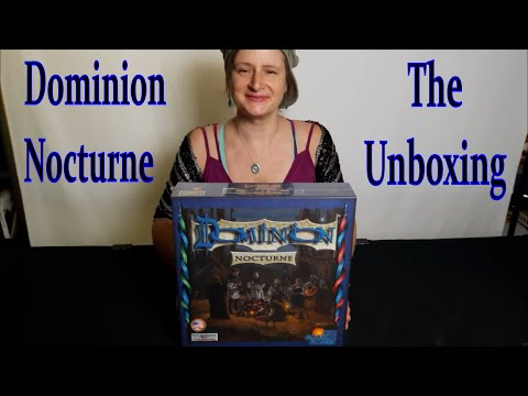 Dominion Nocturne The Unboxing