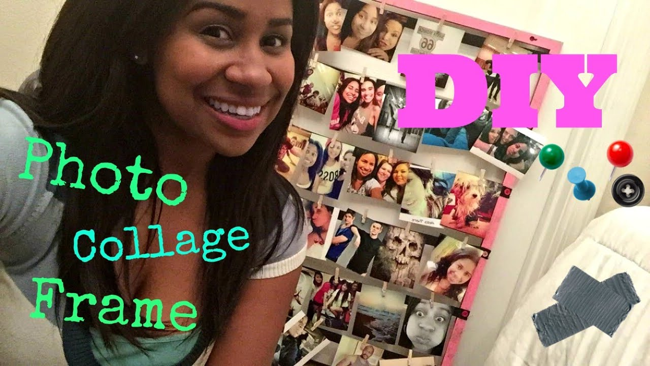 diy photo collage frame - Diy Picture Frame Collage
