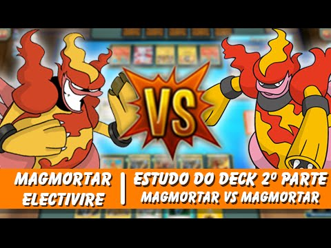 "Pokémon TCG: Deck Magmortar/Electivire ""Magmortar Vs ..."