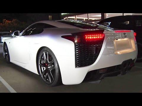 EXOTIC Car Mountain Run - Lexus LFA, Nissan Skyline + MORE! - YouTube