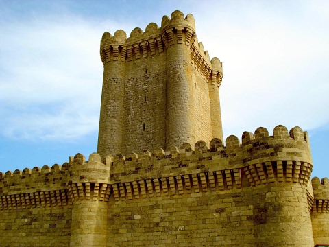Quadrangular Castle, Mardakan, Baku Region, Azerbaijan, Eurasia