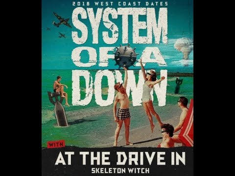 System Of A Down to play 2018 'Aftershock Festival' + West Coast dates announced!