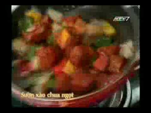 Suon xao chua ngot
