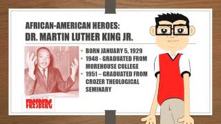 Martin Luther King Jr biography for children (Educational Videos for Students) 2015