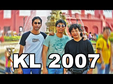 KL2007: Melaka, Genting Highlands & Sepang F1 race - throwback 2007!!