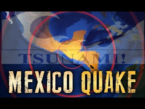 TERRIFYING FOOTAGE OF LARGEST EARTHQUAKE TO HIT MEXICO IN 100 YEARS, END TIMES SIGNS SEPTEMBER 2017!
