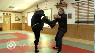 Ninja Self Defense Explosive Stomp Kicks