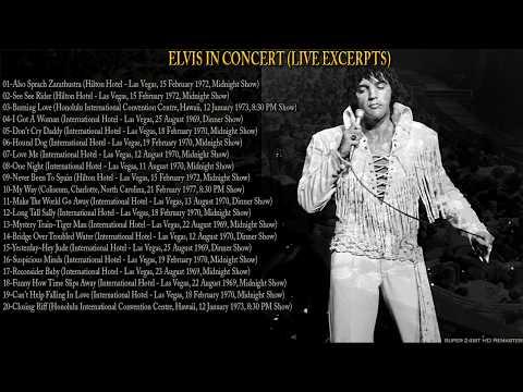 Elvis In Concert (Live Excerpts), (AUDIO ONLY), [Super 24bit HD Remaster], HQ