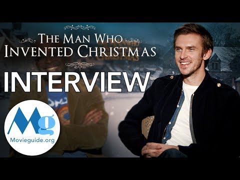 THE MAN WHO INVENTED CHRISTMAS Interview: Dan Stevens and Bharat Nalluri