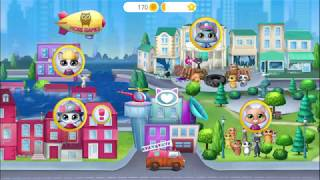 Play Fun Kitten Pet Care Kids Games - Kitty Meow Meow City Heroes -Cat To The Rescue Fun Games  Kids