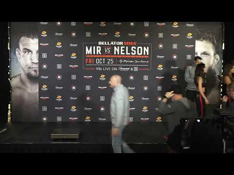 Bellator 231: Mir vs. Nelson LIVE Weigh Ins