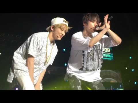 170506 NCT Mad city (Taeyong & Mark ) @ Kpop festival in Myanmar