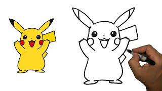 Pikachu Nasıl Çizilir ?