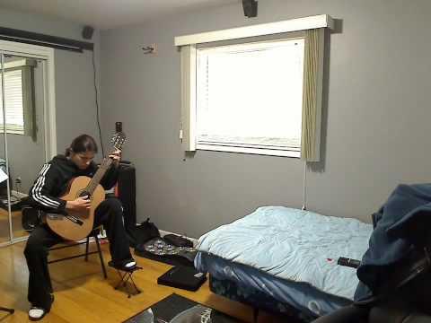 Study by Dionisio Aguado (Sheet Music & TAB)