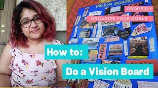 How to properly make a vision board? | Vision Board 2021