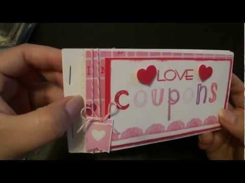 Scrapbook: Valentine Coupon Book