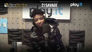 21 Savage on Signing with L.A. Reid at Epic Records - Rap Radar
