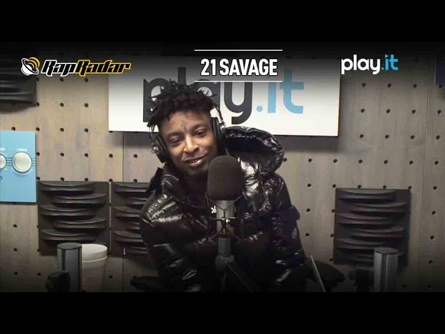 21 Savage Speaks on Signing with L.A. Reid at Epic Records With Rap Radar