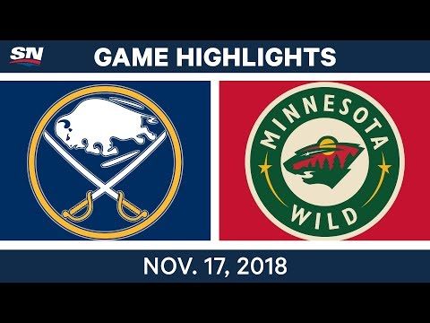 NHL Highlights | Sabres vs. Wild – Nov. 17, 2018
