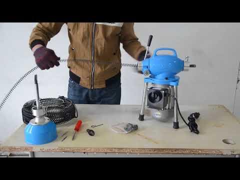 How To Fix Drain Cleaning Machine Ridgid