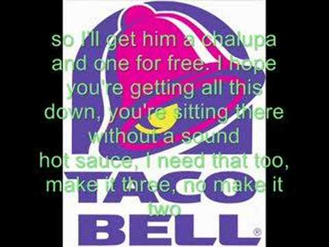 Taco Bell Rap with Lyrics!!!