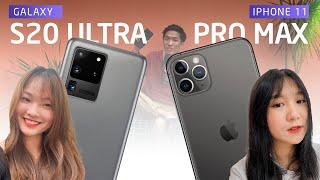 Nếu được TẶNG, bạn chọn iPhone 11 Pro Max hay Galaxy S20 Ultra?
