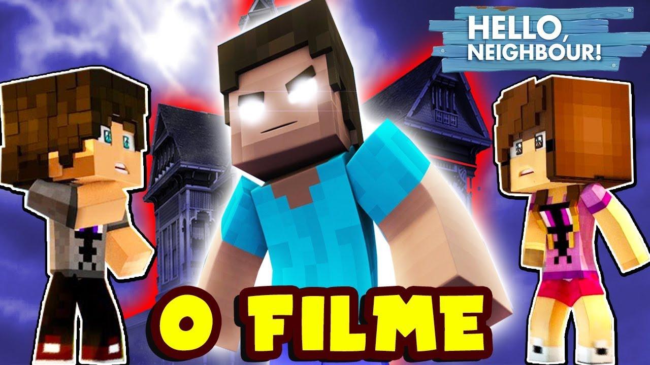 Hello Neighbor O Filme Parte 1 Minecraft Youtube