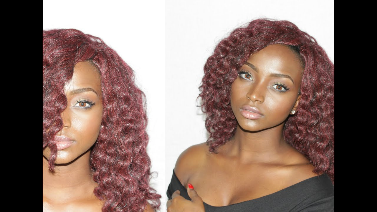 Luminous Summer Makeup For Dark Skin Red Curly Hair Full Face