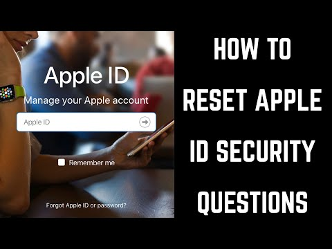 How To Reset Apple ID Security Questions
